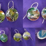vista in a tin earrings