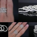 Crown stacking rings