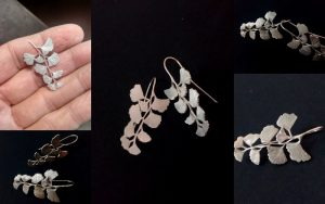 Maidenhair ferns for your ears? Why not! :)