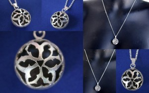 """New Collections """"Global"""". Moroccan Goth.  Small and medium. Sterling silver, patina."""